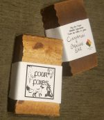 *Four Foxes* Cinnamon and Orange Revitalizing Soap