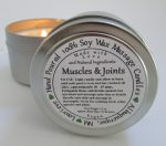 Muscles & Joints – aromatherapy massage candle