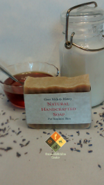 Goat Milk & Honey Soap for Sensitive Skin