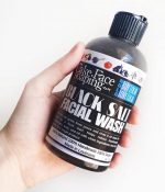 Black Salt Wash for Face and Body