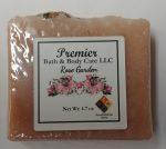 Handmade Rose Garden Soap – Handmade Vegan Soap – Rose Garden Floral Soap – Handmade Floral Bar Soap – Handcrafted Rose Soap
