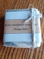 Orange Spice Soap Cake