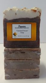 Handmade Vegan Moisturizing Soap | Caramel Pecan Scented Soap | Handcrafted Vegan Soap | Unisex Soap