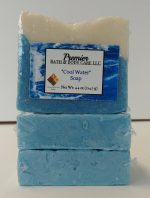 Handmade Cool Water Soap   Vegan Soap   Moisturizing Bar Soap   Men's Cologne Soap   Men's Soap