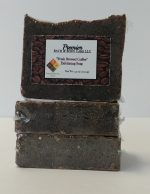 Fresh Brewed Coffee Exfoliating Soap | Ground Coffee Soap | Coffee Scrub Soap Bar | Coffee Soap