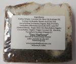 Sea Harbor Exfoliating Soap | Kelp Sea Salt Soap | Natural Sea Salt | All Natural Kelp | Lavender & Lime Essential Oil | Soap Bar