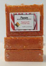 Peppermint Sea Salt Soap | Natural Sea Salt | All Natural Exfoliating Soap | Peppermint Essential Oil | Sea Salt Soap Bar