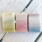 Trio Ombre – Handmade Artisan Soap Bar