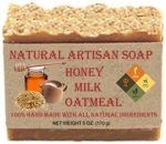 Honey – Milk – Oatmeal Soap Bar