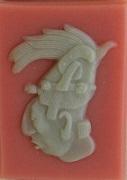 Soaps with Maya motifs