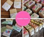 Custom Artisan Crafted Soap Favors