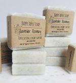 Lavender and Rosemary Exfoliating Scrubby