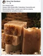 Herbal Goats Milk Soap