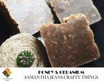 Honey & Geranium Soap