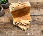 Oatmeal, milk and hiney handmade soap