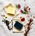 Lemongrass Charcoal and NAtural Soap Bars