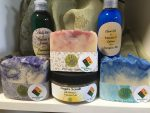 Variety of Handcrafted Soaps
