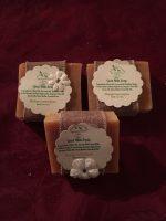 Orange lemongrass Goat milk soap