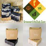 Peppermint and Tea Tree Handmade Bar Soap