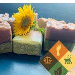 Purple Basil & peppermint soap