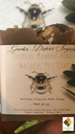 Oatmeal Manuka Honey Luxury Pet Shampoo Bar