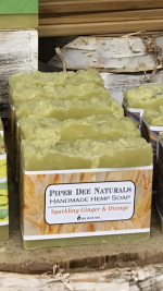 Sparkling Ginger & Orange Hemp Soap