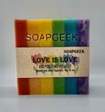 Rainbow Soap Love Is Love