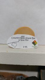 #10 Country Boy's Shaving Bar